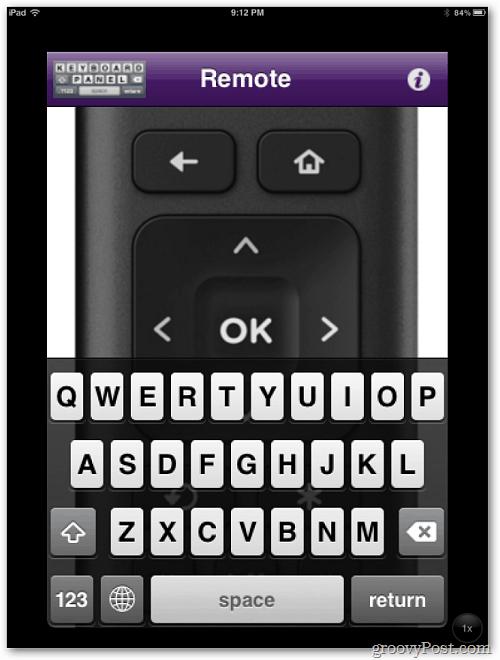 ipad remote control app for netflix