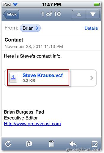 iOS 5 Mail