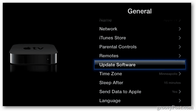 Update Software