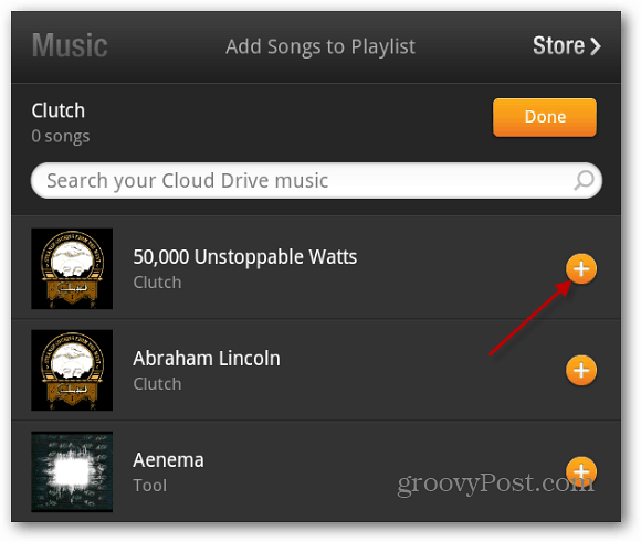 Add Songs Kindle Fire Playlist