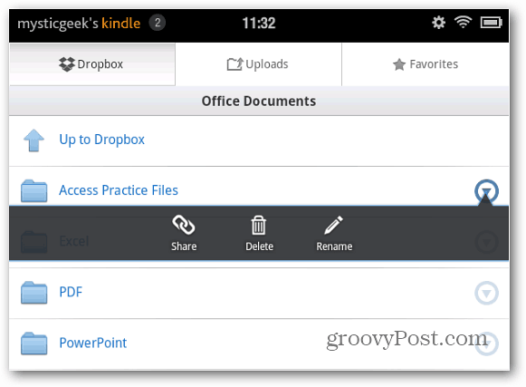 Dropbox File Management