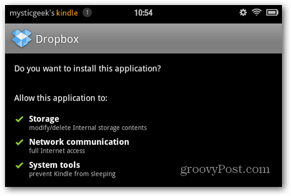 Install Dropbox on Your Kindle Fire
