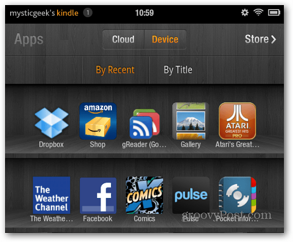 Drropbox Kindle Fire icon