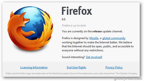 Firefox 9