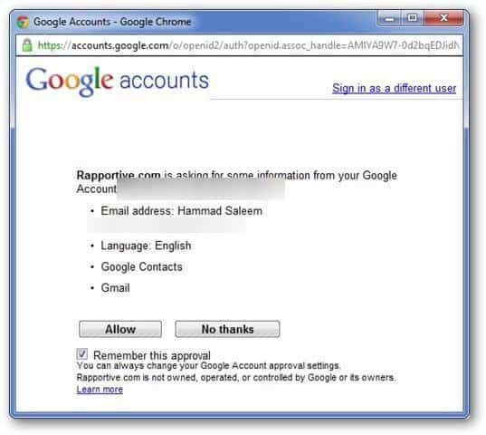 Google Authorization