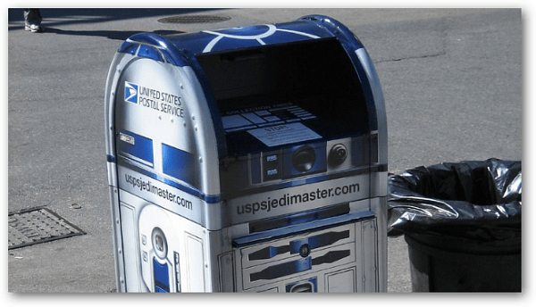 Jedi Mailbox