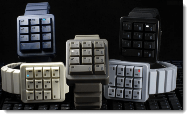 Keypad Watches