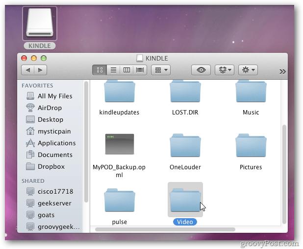 Kindle Fire Mac OS X 10.7