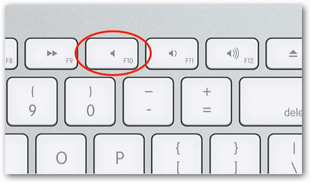 Mac Keyboard Mute