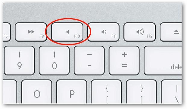 Mac Keyboard Mute