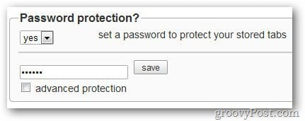 PanicButton Password Option