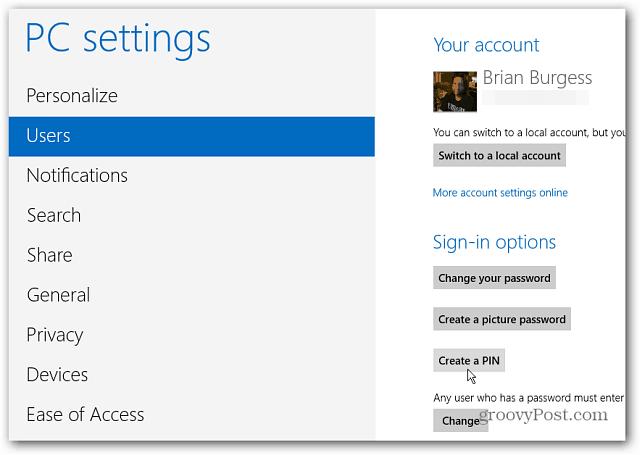 Select Windows 8 users