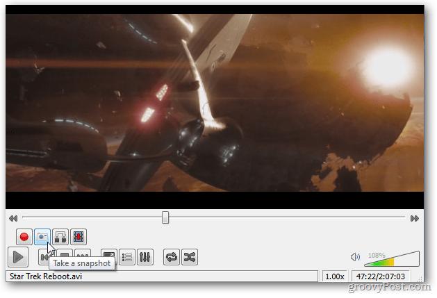 Snapshots VLC Media Player