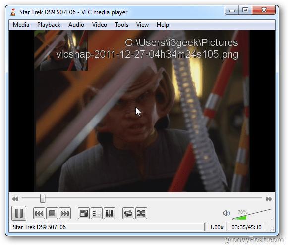 VLC Snapshot Folder