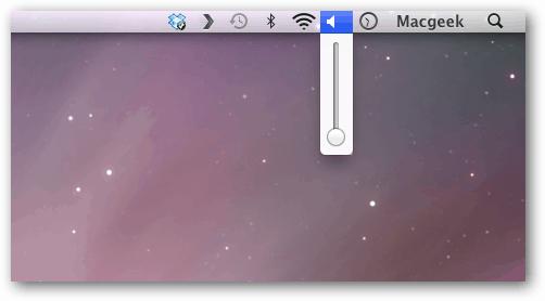 Volume OS X