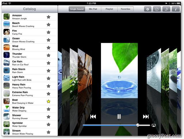 White Noise Pro iPad Giveaway