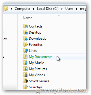 Windows 8 my documents encrypted with EFS - Green