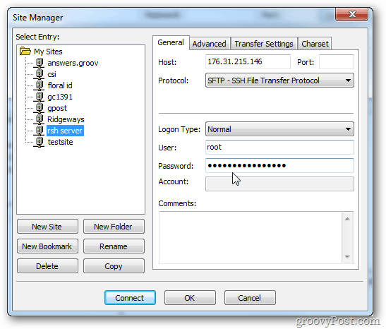 How to Retreive Forgotten FTP Passwords from Filezilla