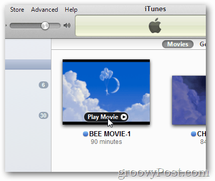 plus movie in itunes