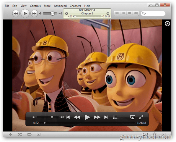 test movie in itunes