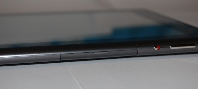 Acer Iconia A500 SDcard Slot Closed