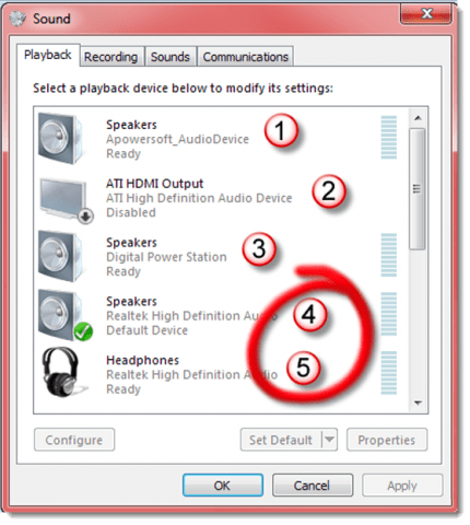 Switch between Speakers and Headphones in 1 Click