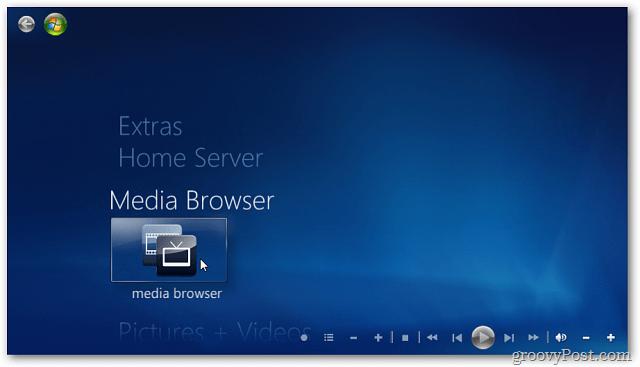 Media Browser WMC