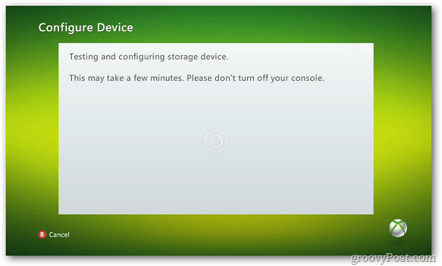 Configuring Drive