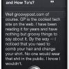 Fake Siri Article