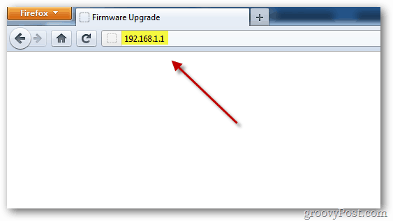 Cisco Linksys Router: How To Upgrade the Firmware