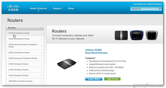 How To Update Cisco Router Firmware - Router Image