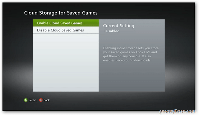 Enable Cloud Storage
