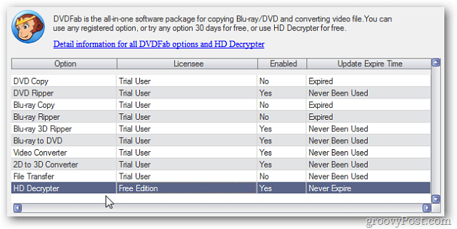 HD Decrypter License