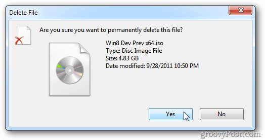 Delete File Permanently