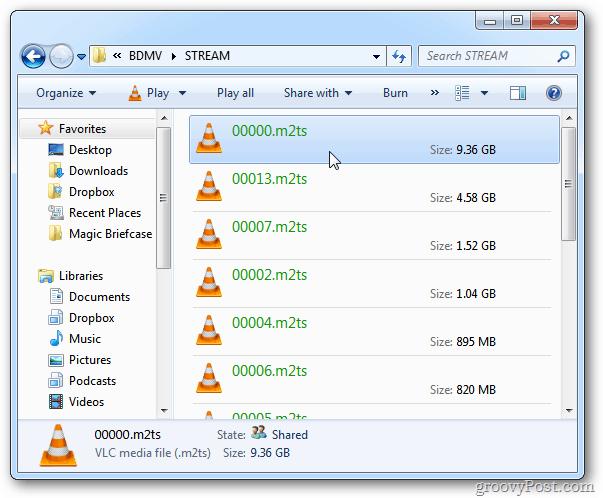 STREAM Folder