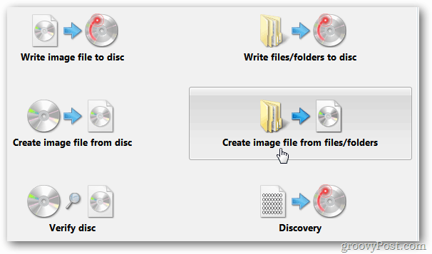 Create Image File from Folder Files
