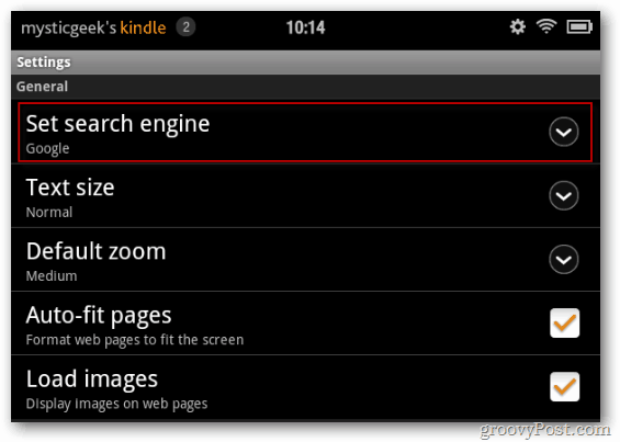 Set Search Engine