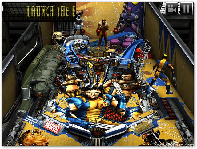 Zen Pinball Wolverine Table