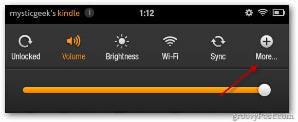 Kindle Fire Options