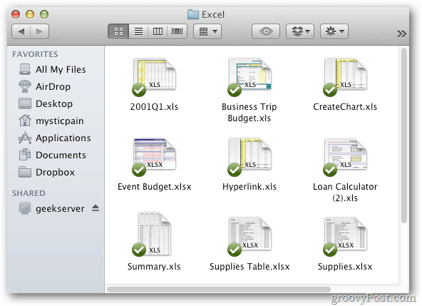 Access Dropbox Mac OS X