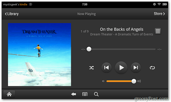 Music Player Kindle Fire
