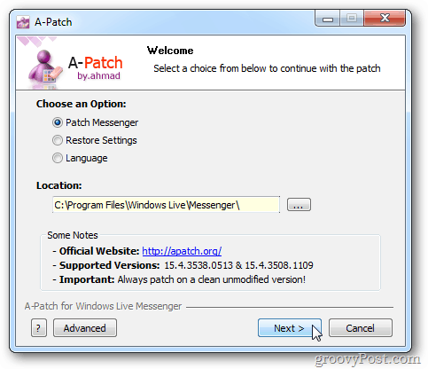 Patch Messenger