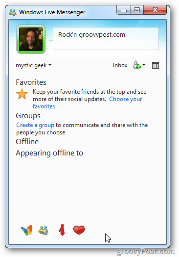 Customized Messenger