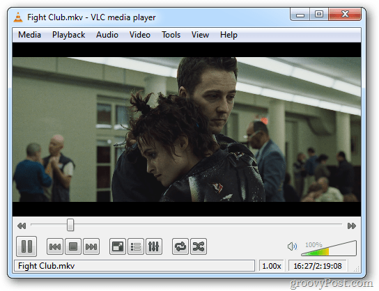 Blu-ray Converted Movie in VLC