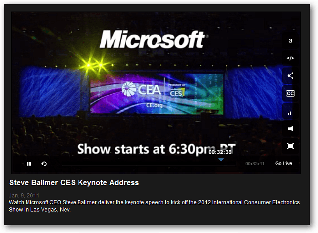 CES Microsoft