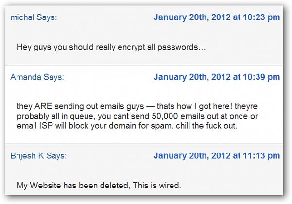 DreamHost Customer Rants