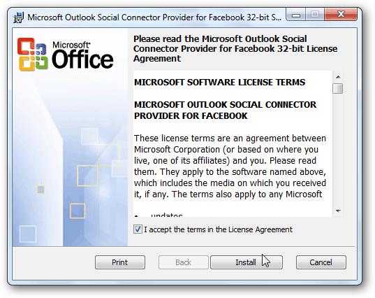 Facebook Connector
