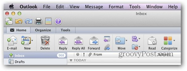 Outlook Mac 2011