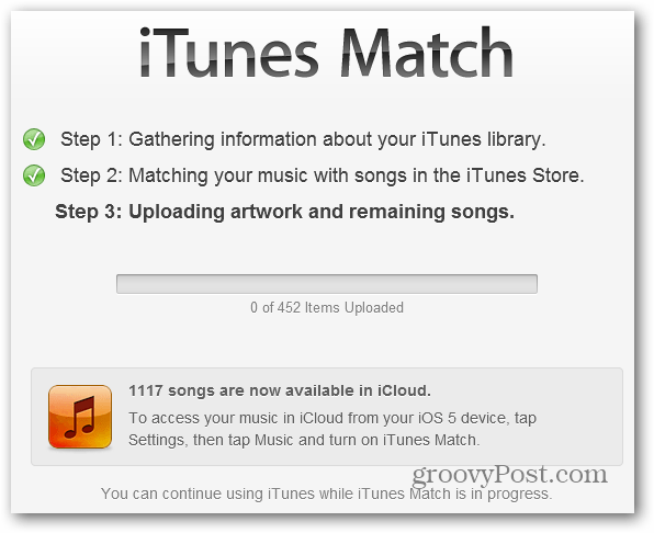 Song available cloud