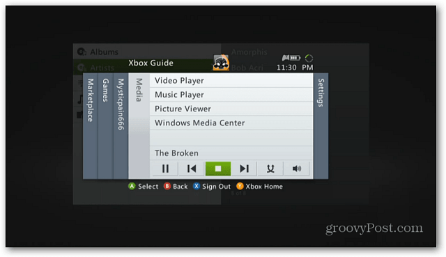 Xbox Guide